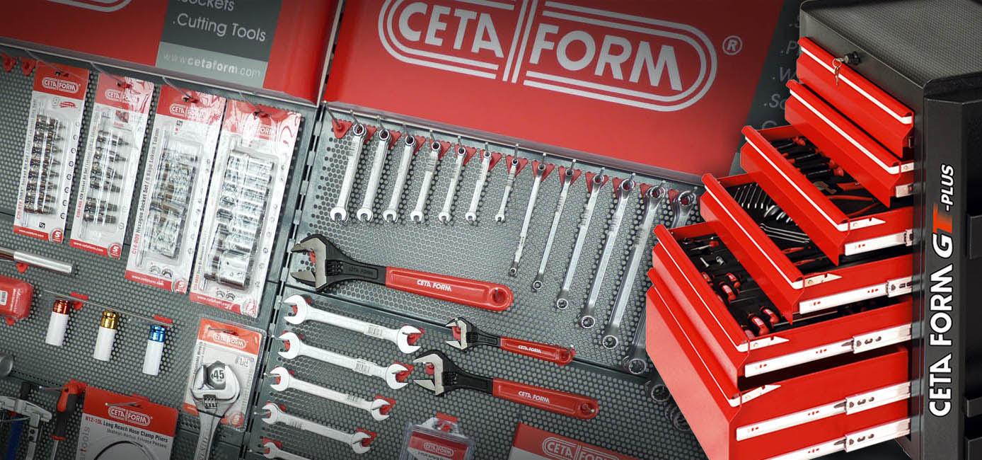 Ferramenta manual de alta qualidade, com garantia vitalícia.  Representante exclusivo CETA FORM.